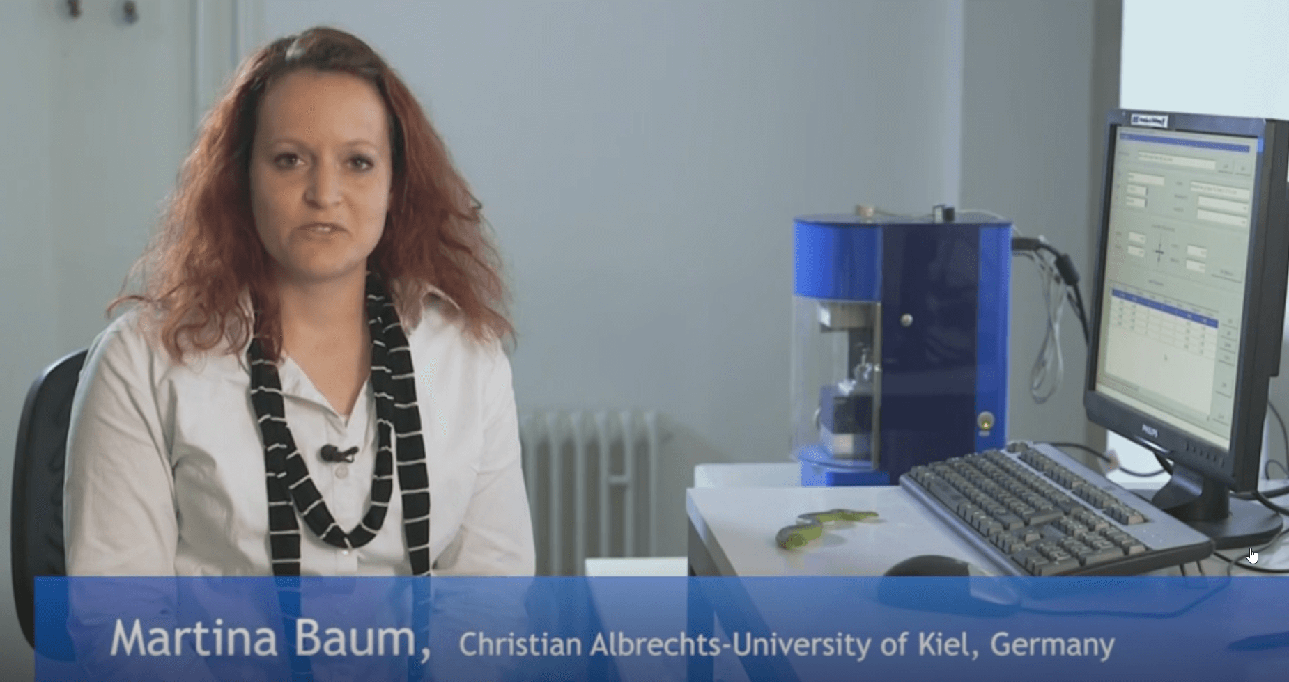 Beilstein TV - Anisotropic frictional properties of snake skin