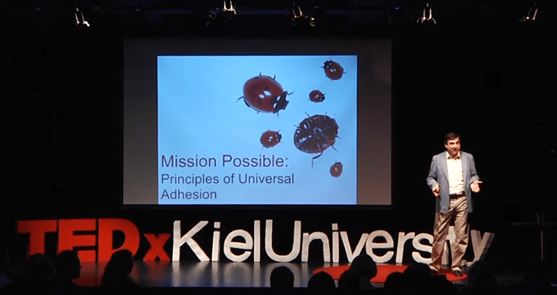 TEDxKielUniversity - Mission Possible Principles of Universal Adhesion